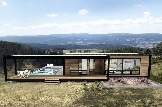These Gorgeous Sustainable Pre Fab Houses Fit