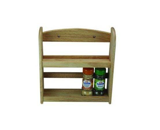 Tier Spice Herb Jar Rack Holder Stand Wall Mounted