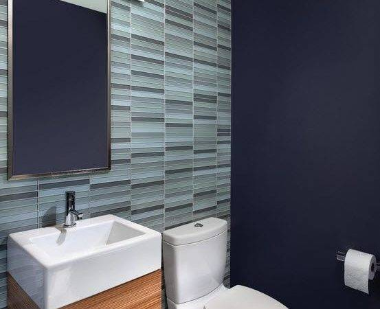Tile Designs Small Powder Room Best