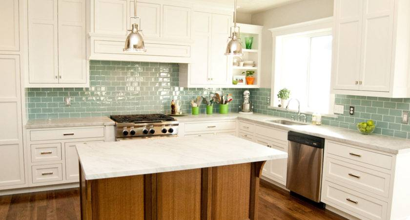 Tile Kitchen Backsplash Ideas White Cabinets Home