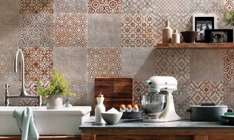Tiled Kitchen Walls Ideas Trendy Colors