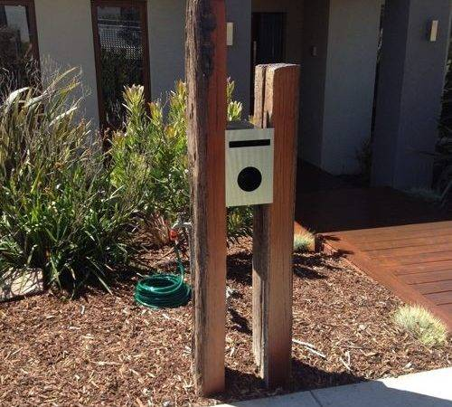 Timber Letterbox Home Design Ideas Renovations Photos
