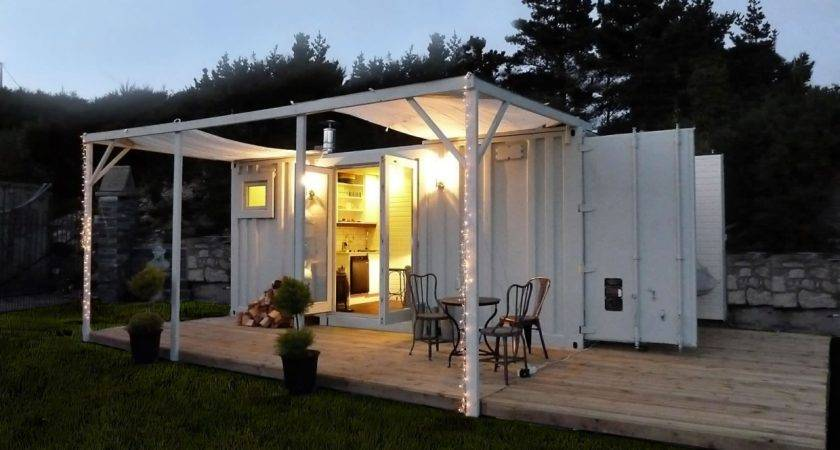 Tiny House Shipping Container Design