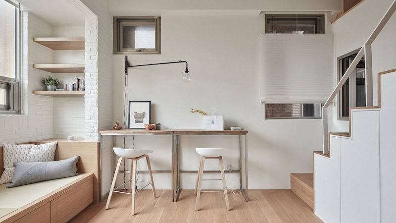 Tiny Loft Taipei Clever Spatial Solutions