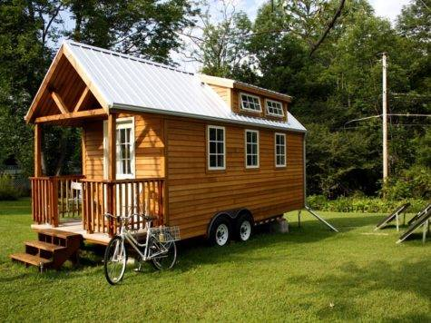 Tiny Prefab Home Wheels Unique Shapes