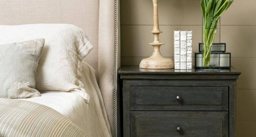 Tips Clutter Bedroom Nightstand Hgtv