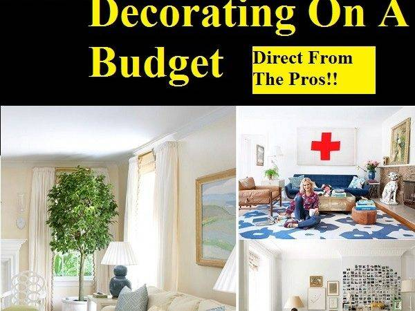 Tips Home Decorating Budget Life