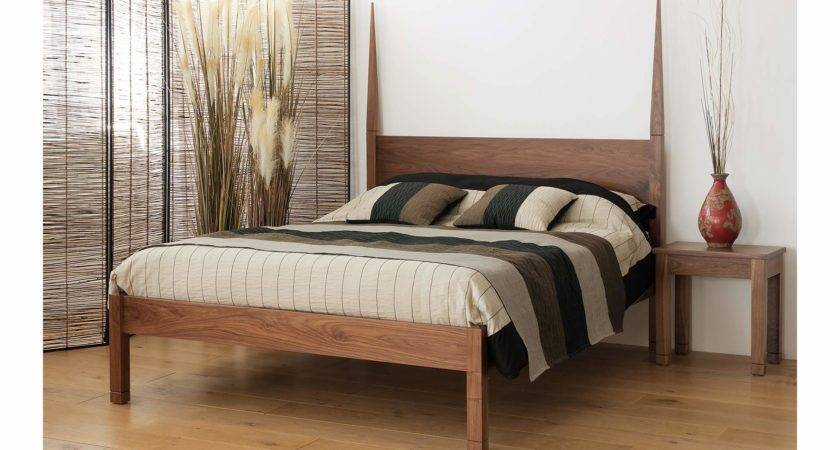 Togo Exotic Solid Wood Bed Natural Company
