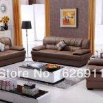 Top Quality Imported Cow Leather Living Room Furniture