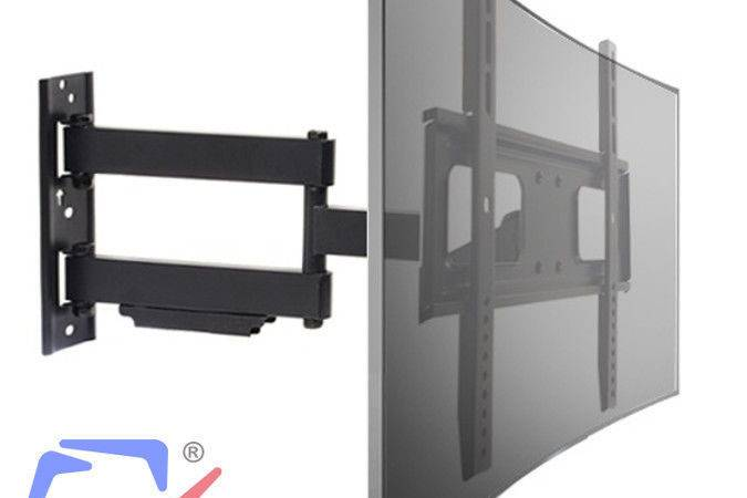 Top Wall Mount Bracket Lcd Led Plasma Flat Curved
