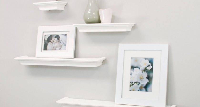 Top White Floating Shelves Home Interiors