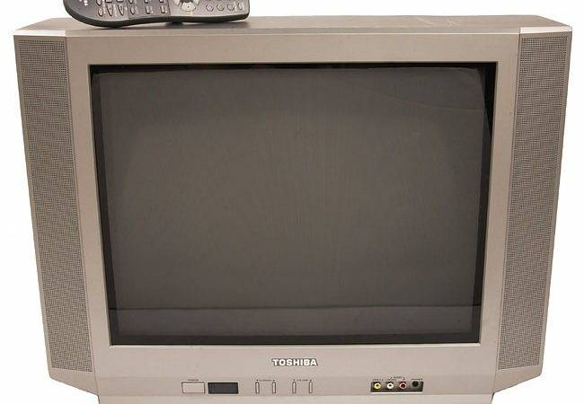 Toshiba Crt Flat Screen Refurbished