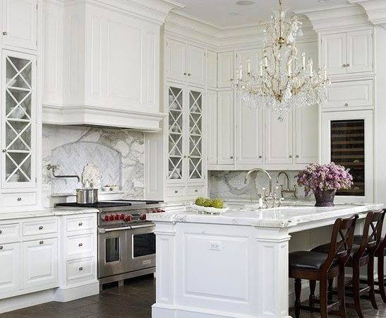Touch Southern Grace Dreaming White Kitchen
