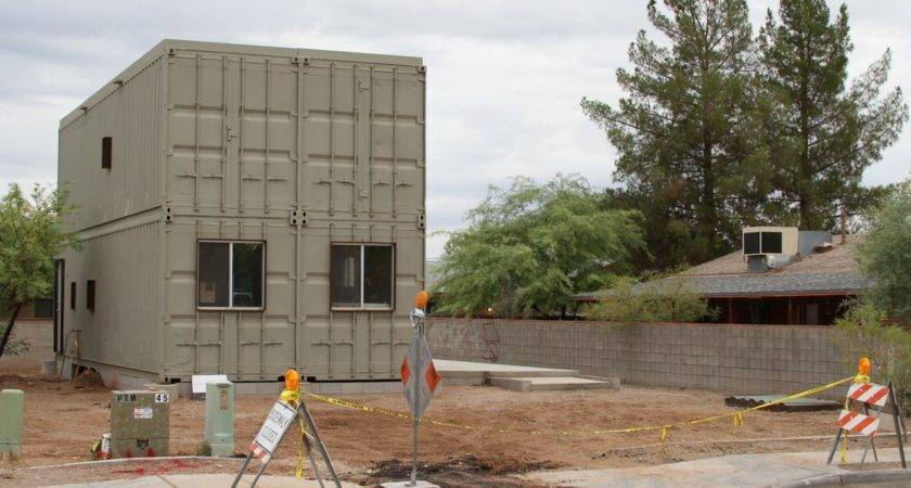 Touch Wind Tucson Steel Shipping Container House