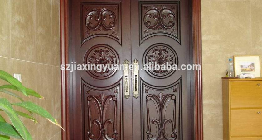 Traditional Arched Wooden Main Door Design Buy