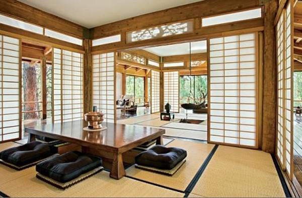 Traditional Japanese Living Room Home Design