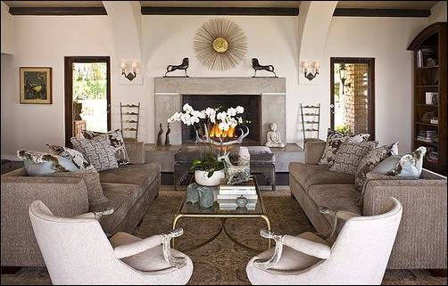 Transitional Living Room Design Ideas Home