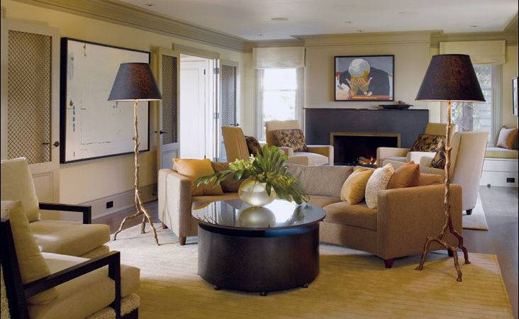 Transitional Living Room Design Modern House