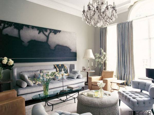 Transitional Style Living Rooms