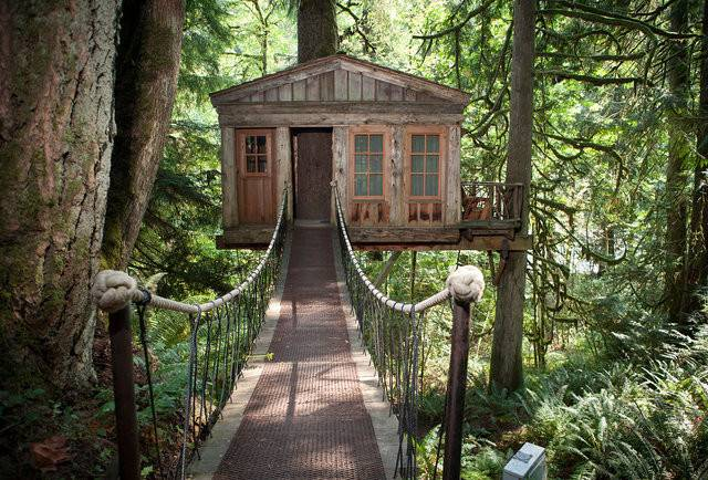 Treehouse Hotels World Coolest