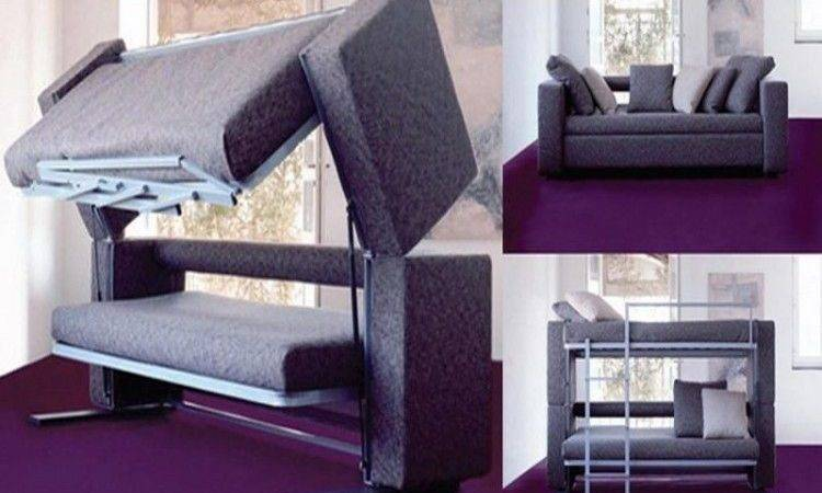 Trendy Bunk Bed Couch Designs