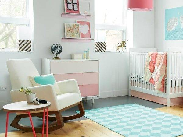 Trendy Ideas Chic Modern Nursery