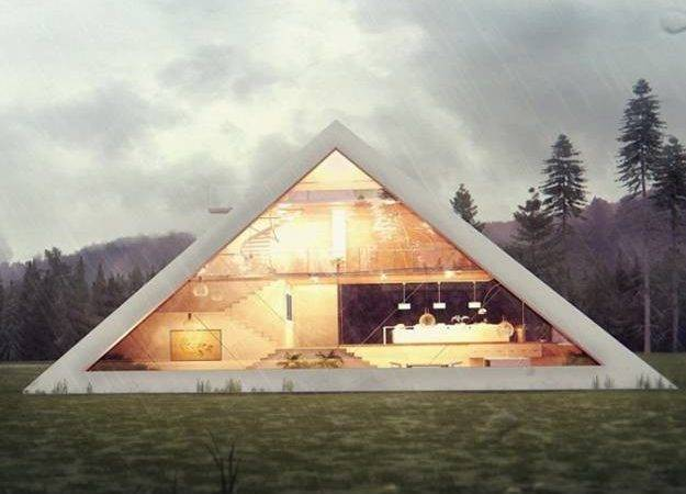 Triangles Architectural Designs Taking Modern Houses