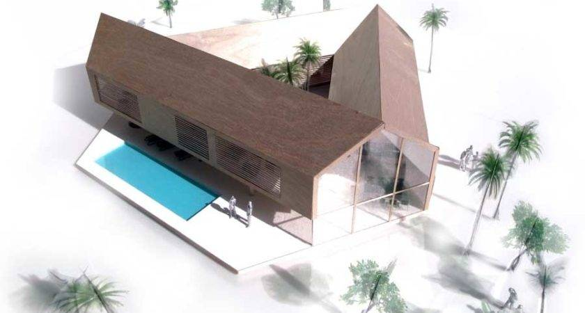 Triangular House Ecuador Property Architecture