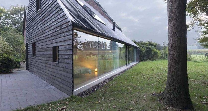 Triangular House Modern Home Almen Gelderland