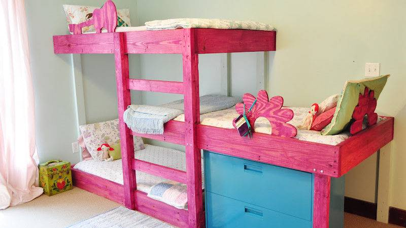 Triple Bunk Bed Plans Loft Beds Buying