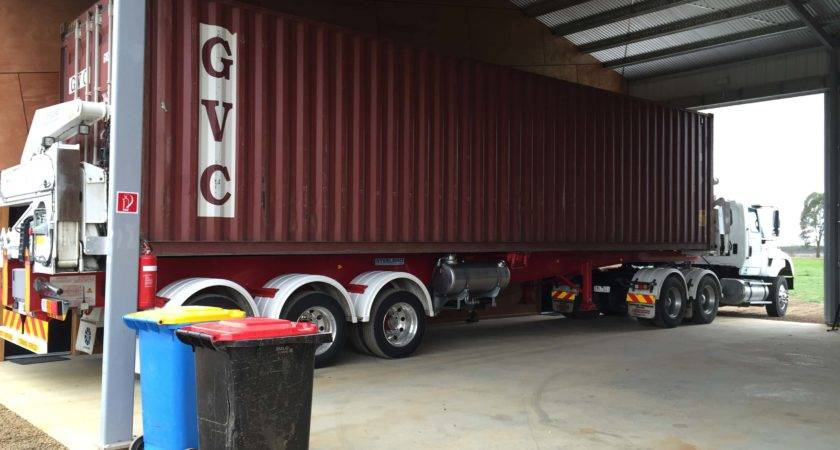 Truck Container Homes Housing Orange County