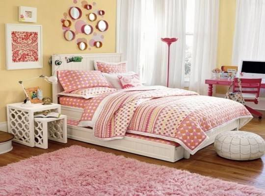 Trundle Beds Teenage Girls Bedroom Design