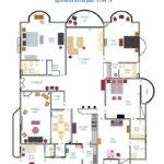 Tulip Towers Apartment Layout Plan Type