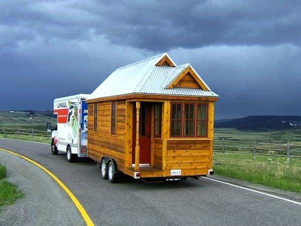 Tumbleweed Fencl Tiny House Over Hill