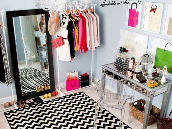 Turn Small Bedroom Into Dressing Room