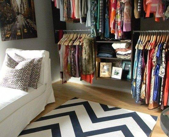 Turn Spare Bedroom Into Giant Walk Closet Obsessed