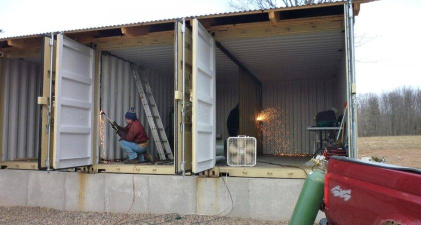 Turning Shipping Container Into Home House
