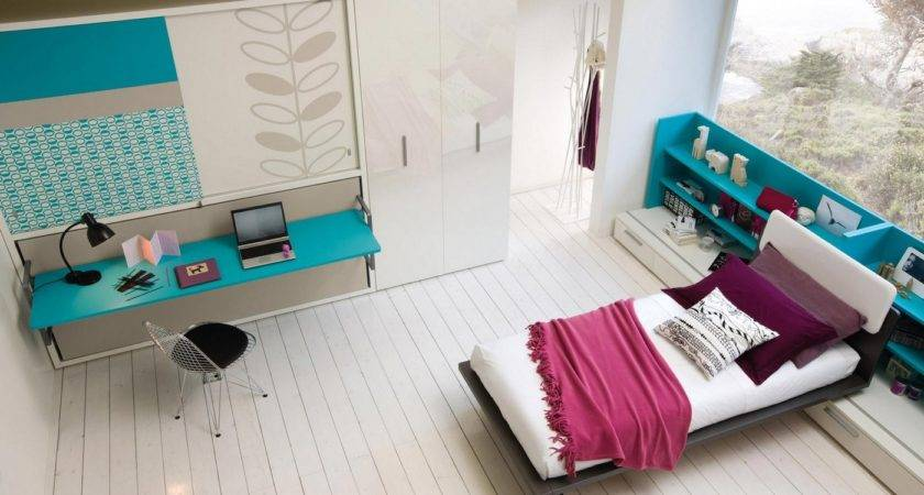Turquoise Furniture Accent Beautiful Teens Bedroom