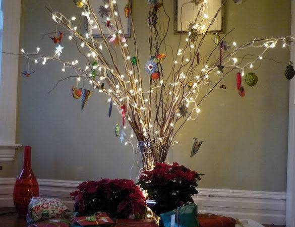 Twig Christmas Table Tree Just Decorate