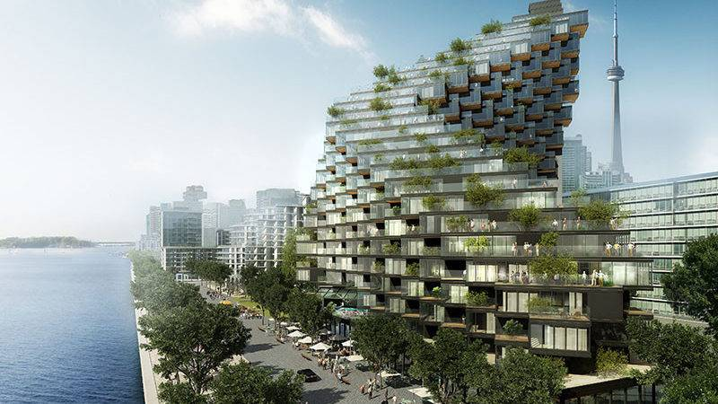 Twisted Building Terraces Has Been Proposed