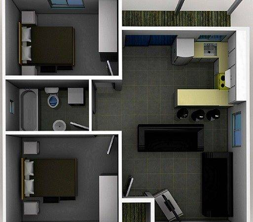 Two Bedroom Designs Smart Choice Granny Flats