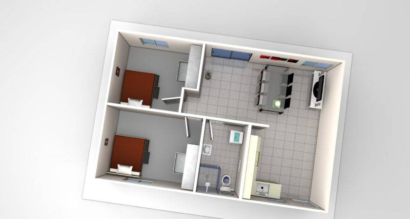 Two Bedroom Flat Plans Photos Video