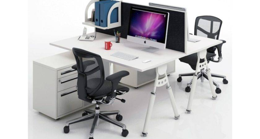 Two Sided Desk Best Solution Limited Office Space