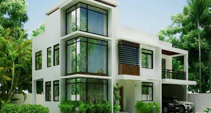 Two Storey House Design Terrace Modern