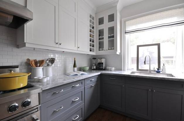 Two Toned Kitchen Cabinets Kitchens Vanities Built