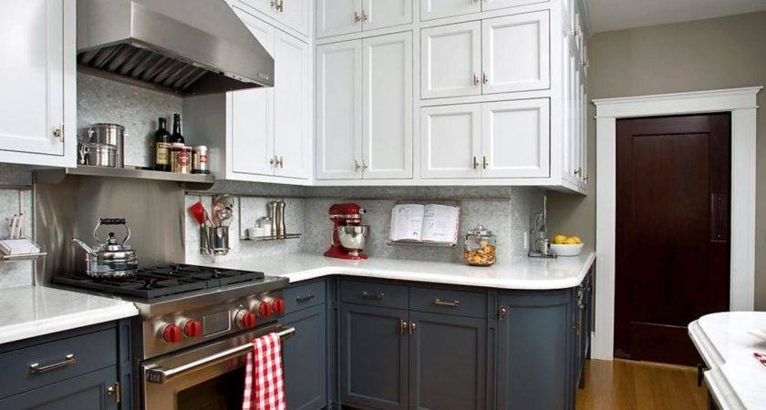 Two Toned Kitchen Cabinets Options Tips