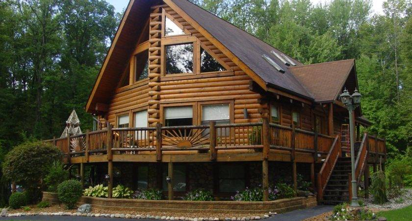 Types Trees Used Log Cabins Homes Ward