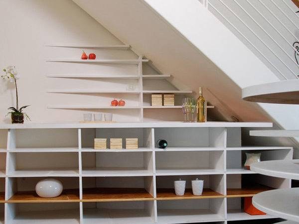 Under Stair Shelves Storage Space Ideas Freshome