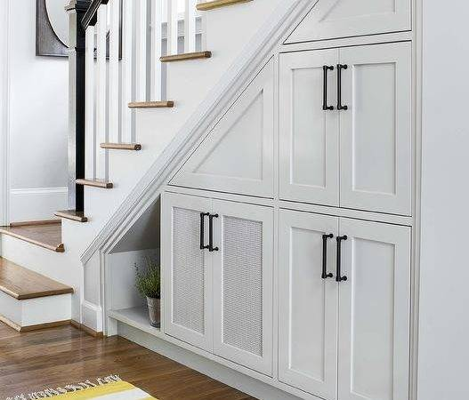 Under Stairs Laundry Design Ideas