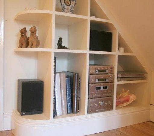 Under Stairs Shelves Home Design Jobs